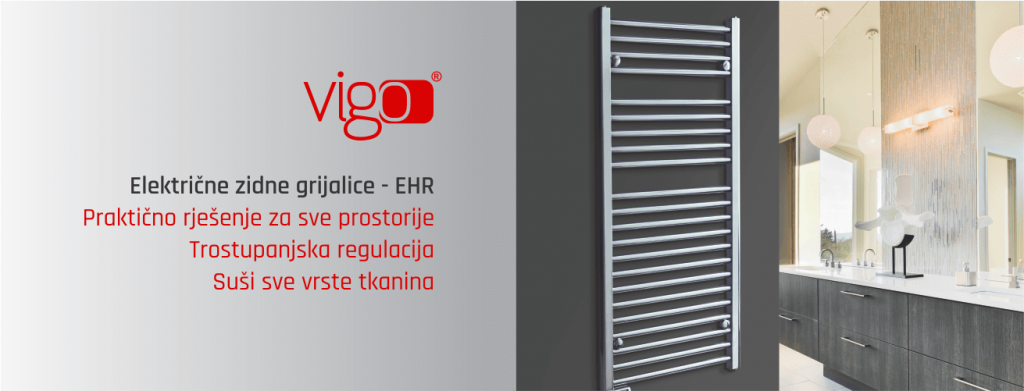 električne zidne grijalice Vigo